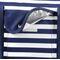 Фото 5 Пляжная термосумка Spokey San Remo (839582), сине-белая полоска