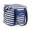 Пляжная термосумка Spokey San Remo (839582), сине-белая полоска