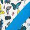 Фото 9 Пляжная термосумка Spokey San Remo (928254), белая с голубым, принт насекомые