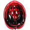 Фото 5 Велошлем защитный Meteor Crust in-Mold, кросс-кантрийный с регулировкой, черный с красным