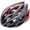 Велошлем защитный Meteor Crust in-Mold, кросс-кантрийный с регулировкой, черный с красным