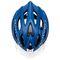 Фото 4 Велошлем защитный Meteor Marven, кросс-кантрийный с регулировкой, синий с белым