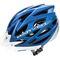 Велошлем защитный Meteor Marven, кросс-кантрийный с регулировкой, синий с белым