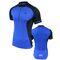Фото 3 Велофутболка мужская компрессионная Radical Racer SX, синяя